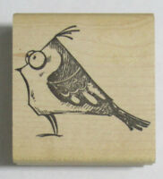 Stampers Anonymous Wood Mounted Rubber Stamp TIM HOLTZ GOOFY BIRD #2