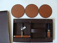NWT Coach F62687 Boxed Bar Set (3 Piece) Saddle