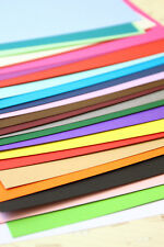 Colour Card Stock 240gsm blank A4 A5 DIY wedding craft place cards cardmaking