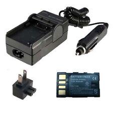 Battery&Charger for JVC GR-D720E GR-D725E D726E GR-D728E GR-D750U D770U GR-D850U