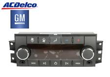 New ACDelco 15881863 GM OE Rear Heater, AC, Radio Control Module - Acadia