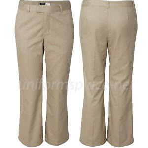 French Toast Girl Pants School Uniforms adjustable waist flat front pant K9295