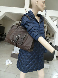 Handtasche Shopper FEYNSINN Leder Damen Braun