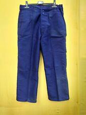 """ancien pantalon bleu en moleskine """"LE LABOUREUR """" / 251"""