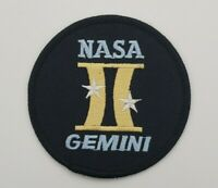 "NASA GEMINI II  3"" SPACE PATCH"