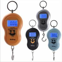 50kg/10g Portable Electronic Scale LCD Digital Hanging Luggage Weight Hook Scale