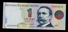 ARGENTINA  1 PESO   ( 1993 ) SERIAL  B  PICK # 339b UNC.