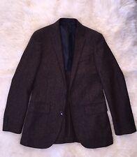 Jcrew $298 Ludlow Blazer In Herringbone English Tweed Brown 36R C8778 SOLD-OUT!