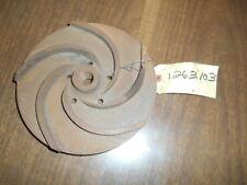 FMC & John Bean centrifugal pump impeller   Part # 1263103