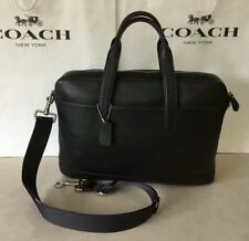 NWT COACH F11319 Men's Hamilton Pebbled Leather Laptop Bag Business Briefcase