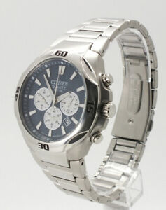 Citizen - Silver Chronograph Stainless Steel Men's Watch - AN8020-51H