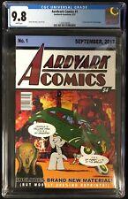 Aardvark Comics #1 CGC 9.8 Action Comics #1 Cover Homage!