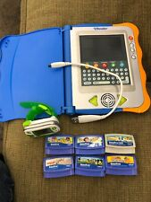 VTECH V-Reader Interactive System E-Reading Touch Screen Disney And Leapband
