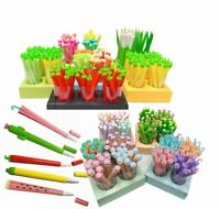 School Office Silicone Ballpoint Novelty Cute Pen Fineliner Pens 0.5mm UK STOCK