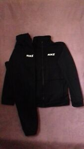 Boys Nike Tracksuit Zip Up Top/Bottoms, Age 12-13 Years