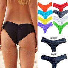 Sexy Women Bikini Bottoms Swimming Short Brazilian Swimwear Briefs Thong UK 8-16
