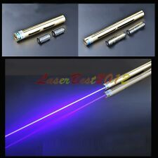 BX5-A 450nm BURNING Blue Laser Pointer Burn Matches Light Cigarettes Pop Balloon