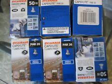 6 sylvania casylite par 20 indoor outdoor light bulbs halogen