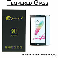 LG G Stylo   G4 Stylus QUALITY HARD TEMPERED GLASS BUBBLE FREE SCREEN PROTECTOR