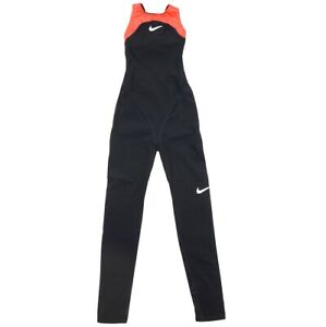 Nike Solid Competition Swimsuit Compression Women's Swimsuit Black Ewa 9008