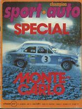 SPORT AUTO n°156 01/1975 avec encart & poster