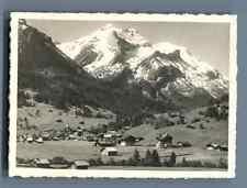 Jacques Naegeli, Schweiz, Gstaad und Umgebung   Vintage silver print. Switzerlan