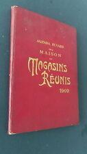 Agenda buvard de la maison des Magasins Réunis dessins B Rabier 1909