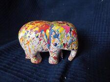 ELEPHANT STREET ART POP ART CUSTOMISE DESIGN PAR L ARTISTE