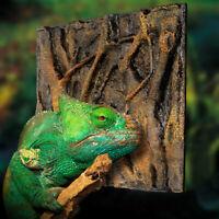 3D Foam Rock Reptile Stone Aquarium Background Backdrop Fish Tank Board Decor UK