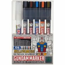 GSI Creos Gundam Marker Pouring Inking Pen Set  GMS122