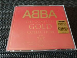 ABBA - The Complete Gold Collection - 2xCD fatbox - Aus press limited edition