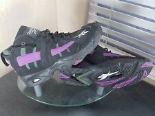 Reebok The Rail Mens Size 10.5 Milwaukee Bucks Black/Purple Basketball Shoes