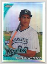GIANCARLO MIKE STANTON #190 2010 Topps Chrome REFRACTOR RC MARLINS/YANKEES