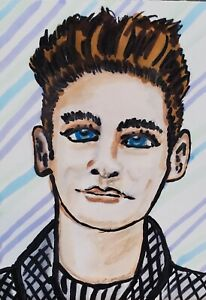 Pop Art Print 5 x 7 Morrissey The Smiths 80's Collectible Signed by Artist KSams