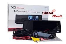 "XO Vision RMC43 4.3"" Widescreen Mirror Monitor  & Back-Up Camera"