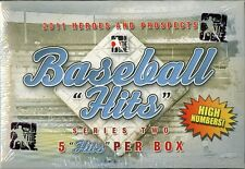 2011 ITG H/P HITS SERIES 2 HIGH NUM UPDATE BASEBALL BOX BLOWOUT CARDS