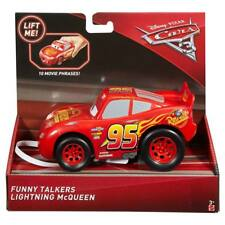 Disney Pixar Cars 3 Vehicle Funny Talkers Lightning McQueen Kids Boys Toys NEW