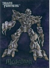 Transformers The Movie Embossed Chase Card #7 Megatron