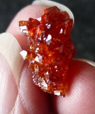RARE RED / ORANGE ZINCITE (2.6 grams / 15 mm) NATURAL (K2) DIRECT FROM POLAND