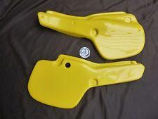 Yamaha YZ250 YZ490 1982 Side Panels yellow vintage evo twinshock vmx