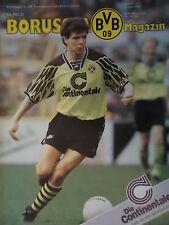Programm 1994/95 Borussia Dortmund - Bayer Leverkusen