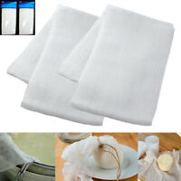 2 Sq Yard Cheesecloth White Gauze Fabric Kitchen Cheese Cloth Bleach Cotton New