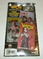 WCW NWO Holographic 3-D Cards GOLDBERG Sting MACHO MAN Wrestling Wrestlers WWE