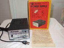 New ListingDiscounted Vintage Numark Electronics Regulated Power Supply