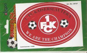 Aufkleber 1.FC Kaiserslautern  -ULTRAS-Fans-Holligans---DFB-Bundesliga-NEU13x9