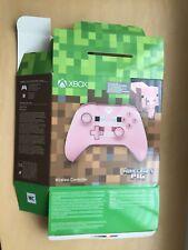 Minecraft Pig EMPTY BOX Only -Xbox One Wireless Controller Retail Dummy Display