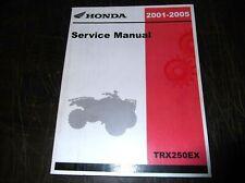 ORIGINAL HONDA 2001 2002 2003 2004 2005 TRX250EX ATV SERVICE MANUAL TRX 250 EX