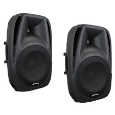 GEMINI ES 15P coppia casse diffusori amplificati per karaoke feste DJ discobar