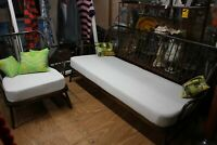 Vintage Ercol 3 Seater Jubilee Sofa Settee Studio Couch Daybed and Arm Chair