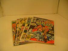 Marvel - John Carter Warlord of Mars Comic Book Lot